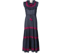 Gepunktetes 'Lila' Kleid