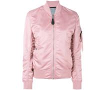 arm pocket bomber jacket