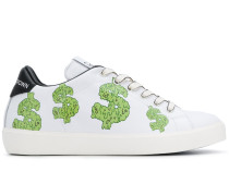 cartoon-print sneakers