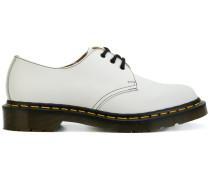 Derby-Schuhe mit Kontrastdetails