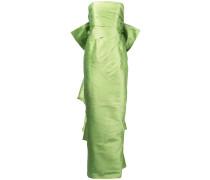 Robe mit drapierter Schleife