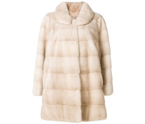Mantel mit Nerzpelz
