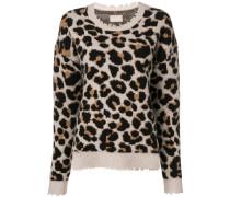 'Kansas' Pullover im Leo-Look