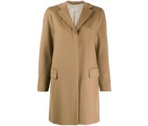 Mantel mit verdecktem Verschluss