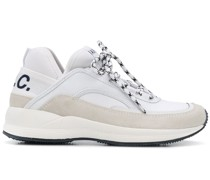 A.P.C. Sneakers mit Logo-Print