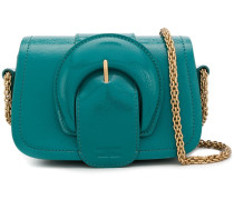 Mini-Tasche mit Oversized-Schnalle