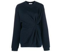 Jersey-Pullover mit Knotendetail
