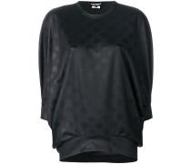 dot texture blouse
