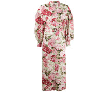 P.A.R.O.S.H. Kleid mit Blumen-Print