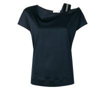 T-Shirt mit Schulterdetail