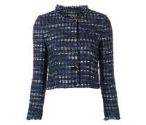 Cropped-Jacke aus Tweed