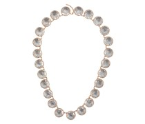 Olivia Grey Button Riviere necklace