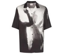 Hemd mit Silhouetten-Print