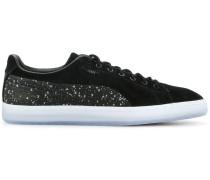 Sneakers mit kontrastierendem Einsatz