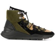 Sock-Sneakers mit Camouflage-Print