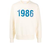 """Sweatshirt mit """"1986""""-Print"""