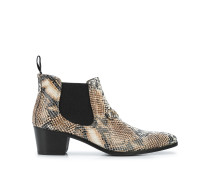 Chelsea python print boots