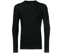 Pullover in Waffeloptik