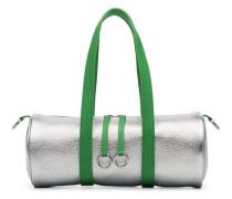 Mini Reisetasche im Metallic-Look
