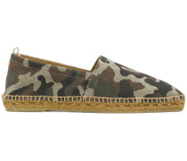 camouflage print espadrilles