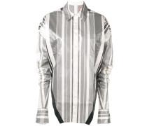 Gestreiftes Metallic-Hemd