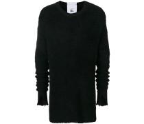 Pullover mit geschlitzten Ärmeln