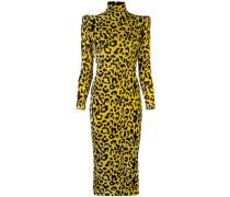 'Miles' Kleid mit Leoparden-Print