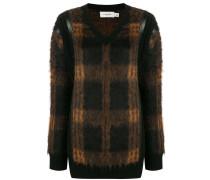 check pattern sweater