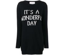 'It's a Wonderfull Day' Kleid