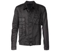 cargo denim jacket