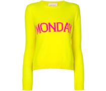 Monday intarsia jumper