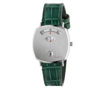 'Grip' Armbanduhr aus Krokodilleder