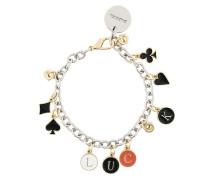 'Luck' Armband mit Anhängern