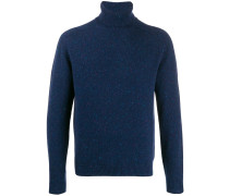 rollneck knit sweater