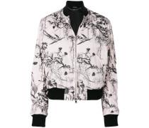Bird Sketch bomber jacket