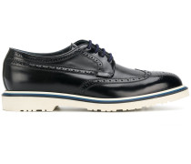 contrast brogue shoes
