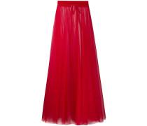 sheer tulle full skirt