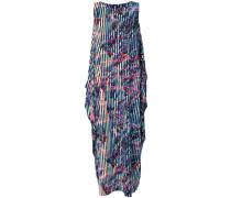 Kastiges Kleid mit Print