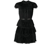 Rosetta pleated short dress