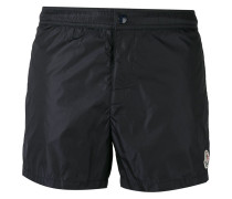 contrast piped swim shorts