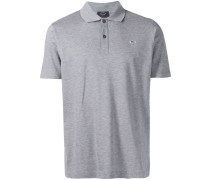 embroidered logo polo shirt