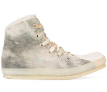 High-Top-Sneakers in Farbverlauf-Optik