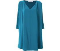 oversized side ruffle dress