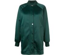 long line bomber jacket