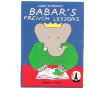 'Babar's French Lessons' Buch-Clutch