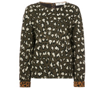 Sweatshirt mit Animal-Print