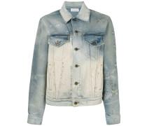 Jeansjacke mit Stonewash-Effekt