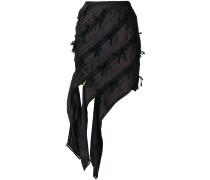 asymmetric bow skirt