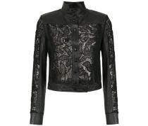 Gabi leather jacket