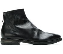 Stiefel aus gekörntem Leder